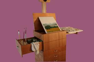 Amicucci cavalletti da pittura mobile da pittore